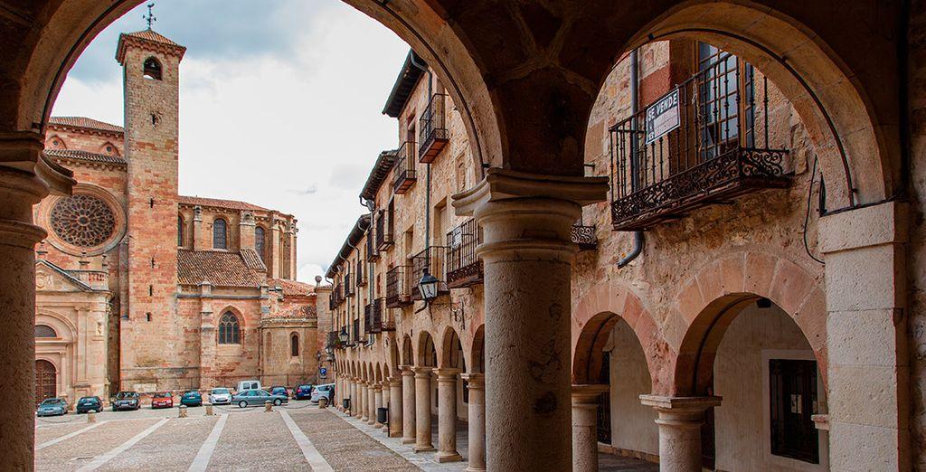 O la hermosa localidad de Sigüenza, en la provincia de Guadalajara