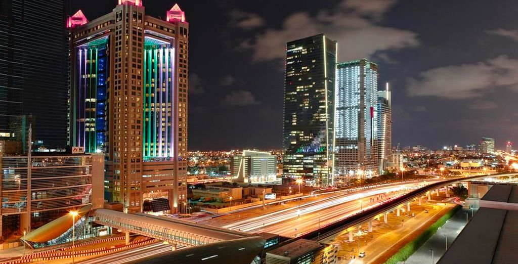 El icónico Fairmont Dubai