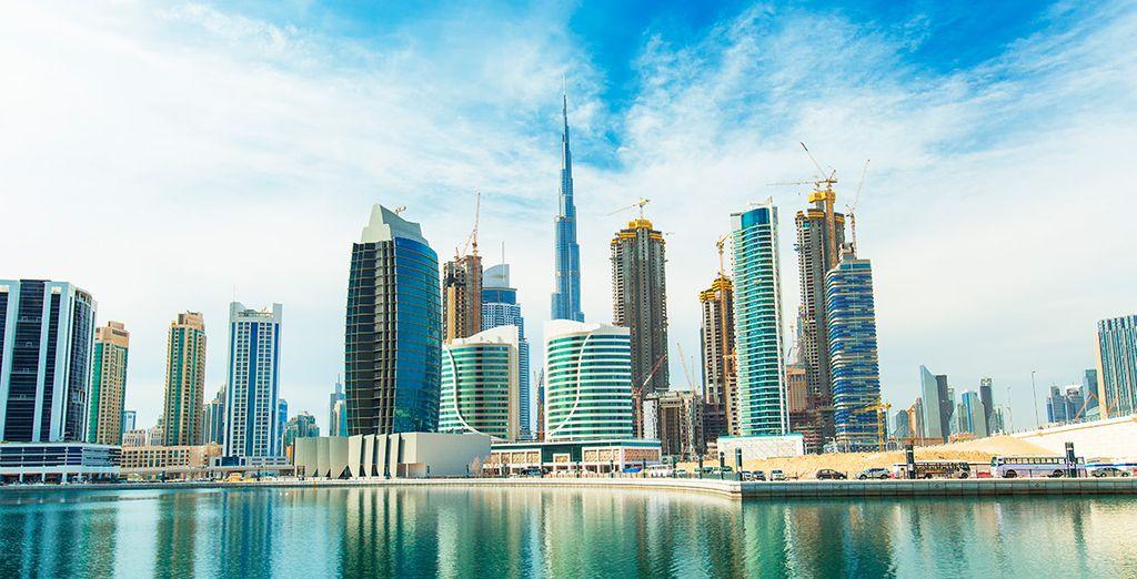 ¡Bienvenido a Dubái!