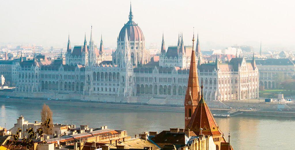 El Parlamento es probablemente el edificio más conocido