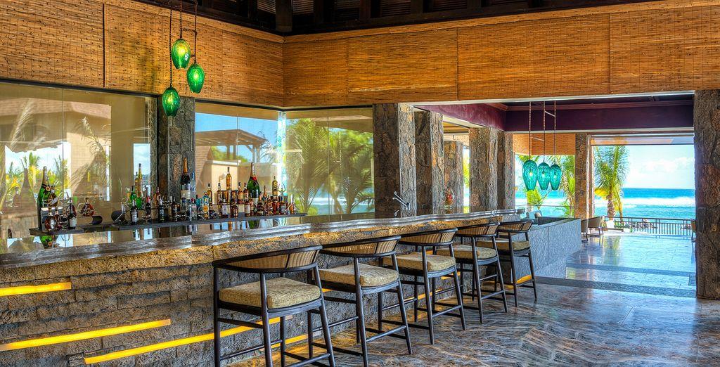 En el bar del hotel encontrarás una amplia variedad de bebidas