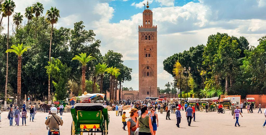Vacaciones y actividades en Marrakech, viajes a Marruecos