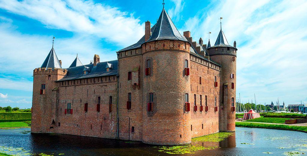 Visita el Muiderslot, en las inmediaciones de Ámsterdam
