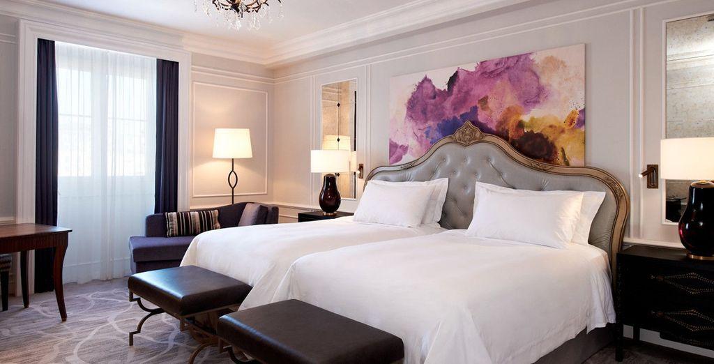 Hemos negociado para ti una mejora a habitación Premium con vistas al río