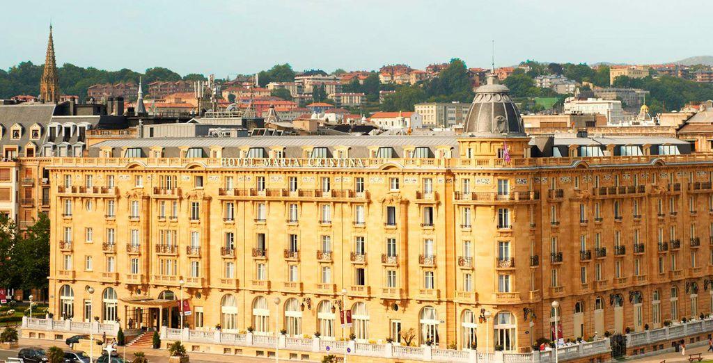 Un hotel impresionante, ideal para tu escapada a San Sebastián...