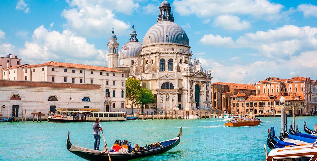 Venecia está llena de sorpresas... ¿Nos vamos?