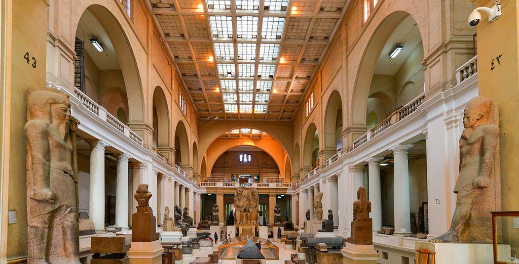 Opcionalmente, podréis visitar el Museo Egipcio