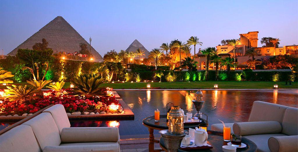 Bienvenido a Mena House 5*, lujo en El Cairo