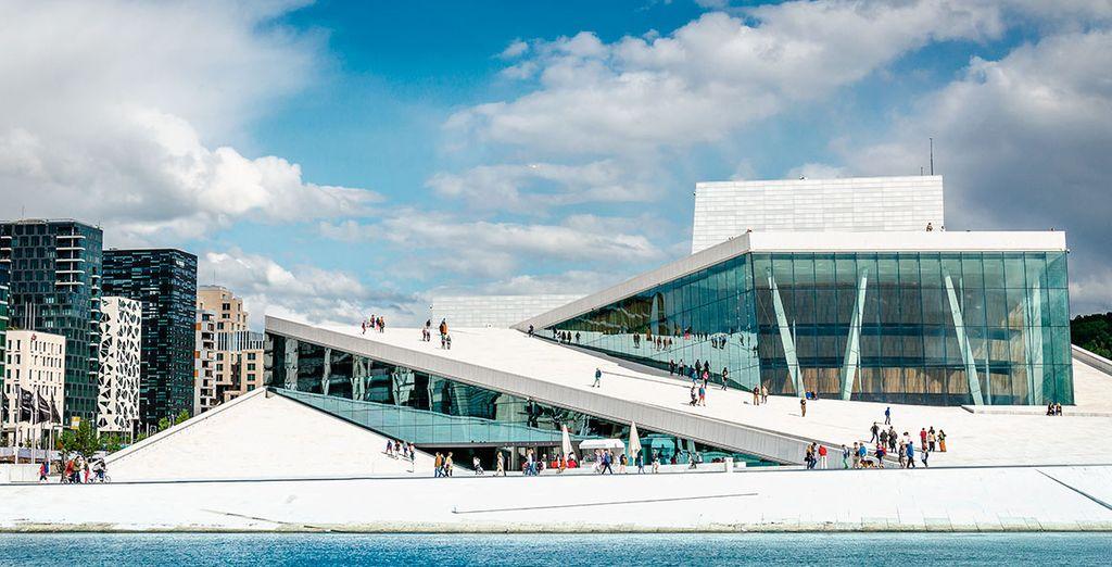 Opera House de Oslo, un edificio vanguardista y sorprendente