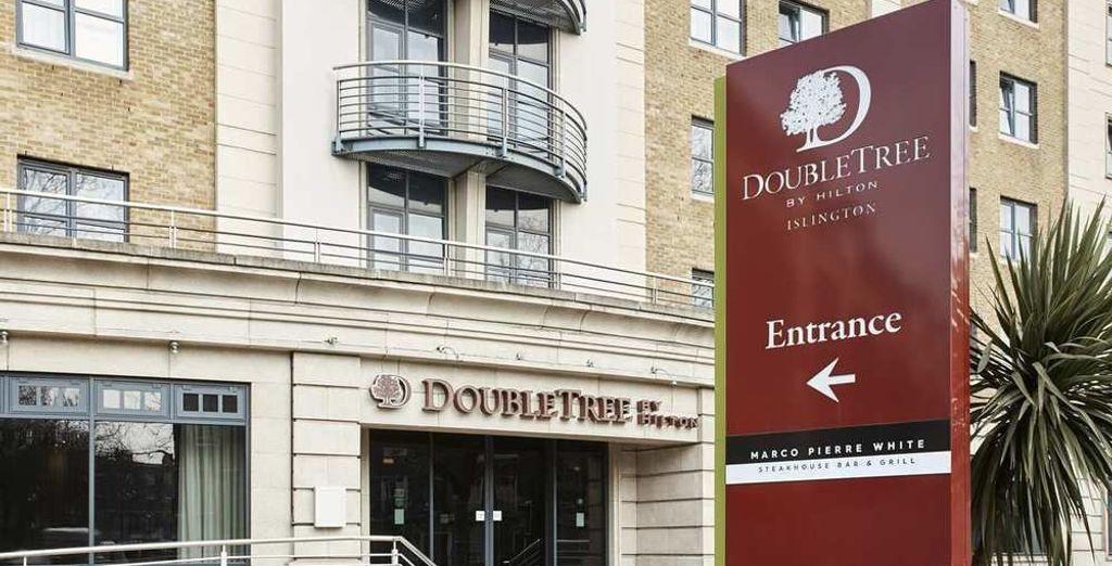 DoubleTree by Hilton Islington 4* te da la bienvenida