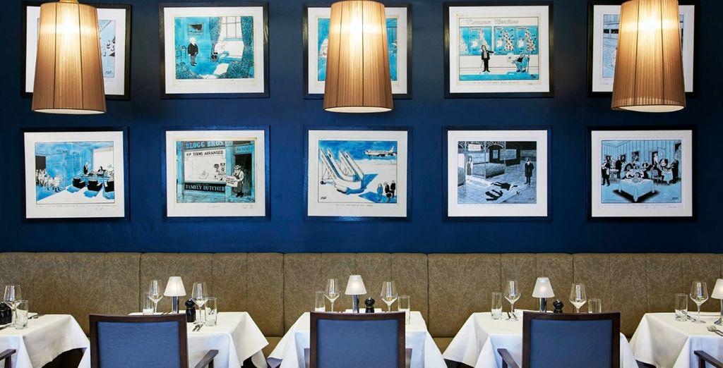 El Marco Pierre White Steakhouse Bar & Grill ofrece cocina británica gourmet