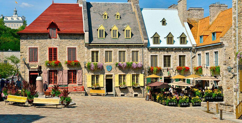 Explora la ciudad vieja de estilo francés del siglo XVIII