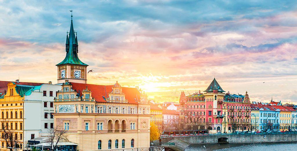 Bienvenido a Praga