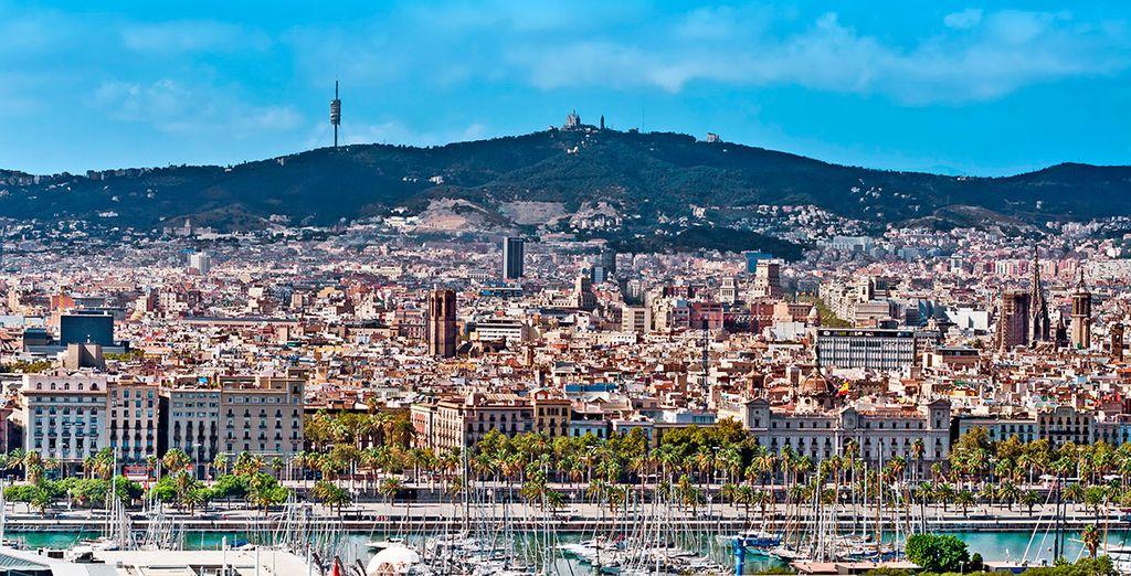 Barcelona es una ciudad con mucho encanto y con mucho que ofrecerte