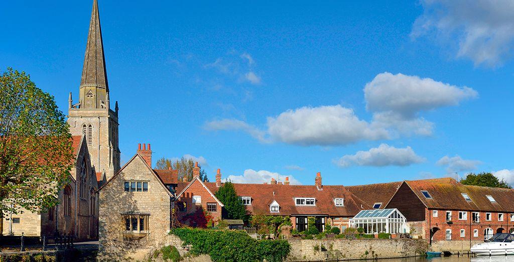 Aprovecha para visitar las bonitas localidades de los alrededores como Abbingdon