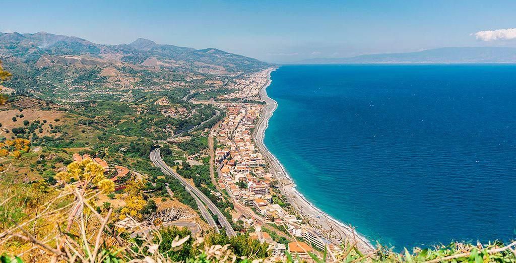 La costa de Sicilia es de una belleza suprema... ¿Nos vamos?