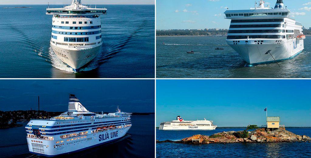 Una travesía en barco te llevará de Riga a Estocolmo