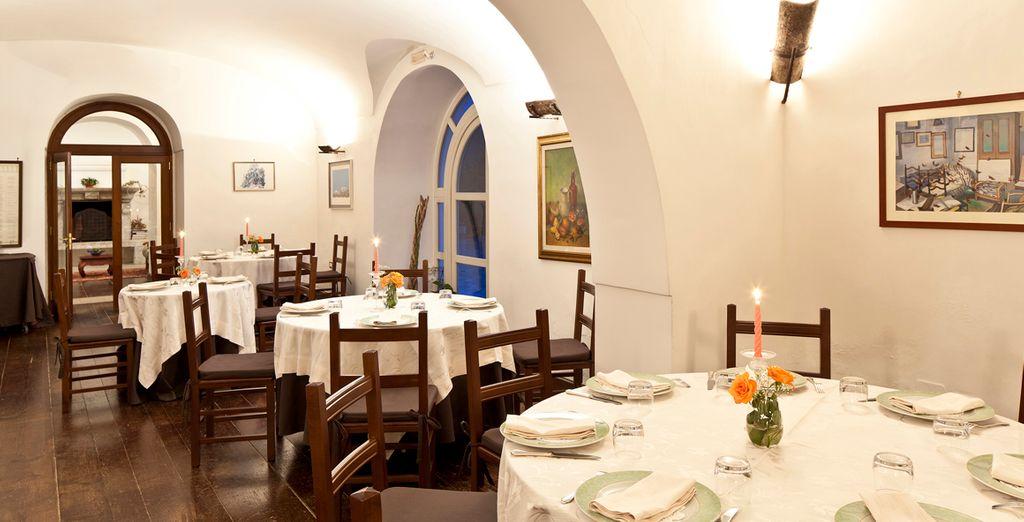 Degusta la famosa cocina italiana