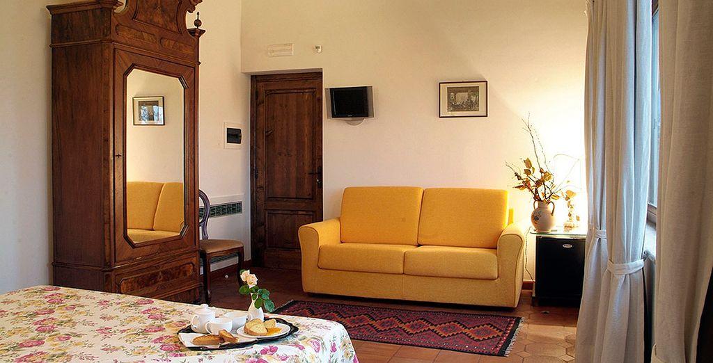... tu acogedor y elegante espacio de descanso