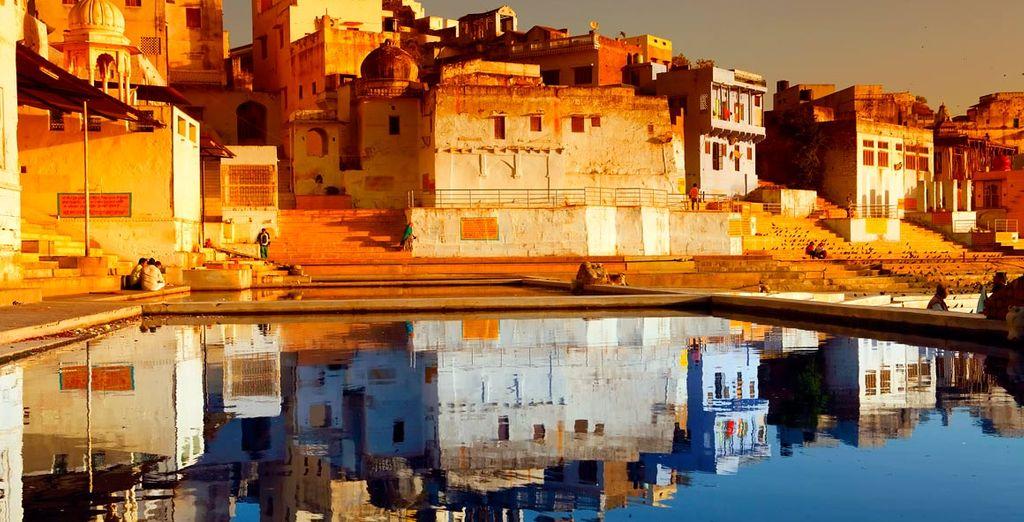 El fuerte de Amber es uno de los iconos del Rajasthan