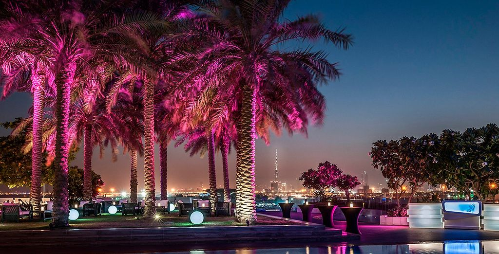 Un hotel de lujo situado en Dubai Creek
