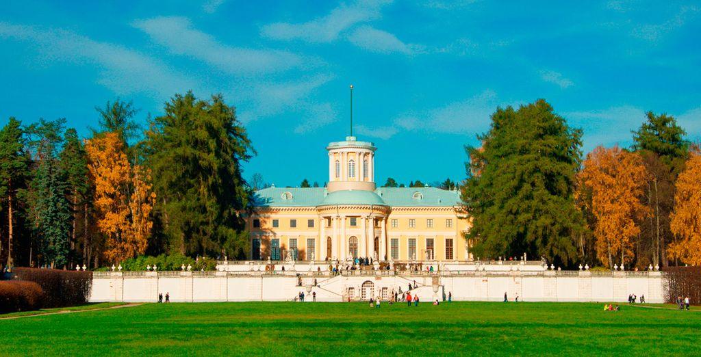 Palacio Yusupov, majestuosa contrucción en esta linda ciudad