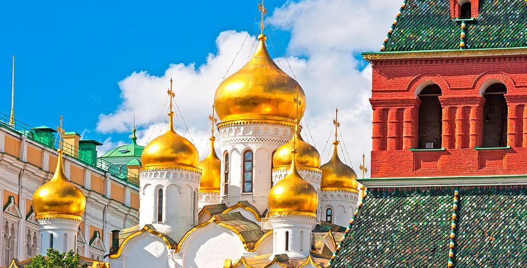Pon rumbo a Moscú y visita los lugares más emblemáticos