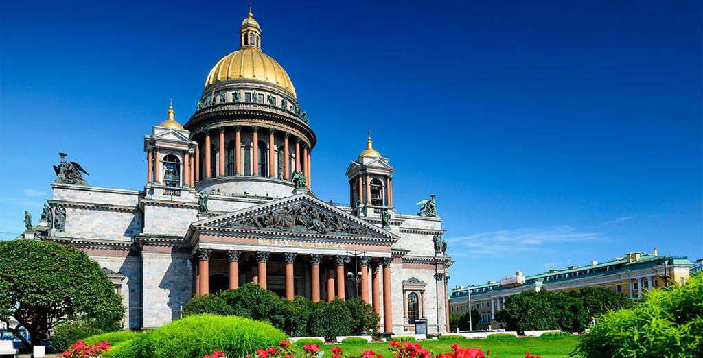 La maravillosa Catedral de San Isaac