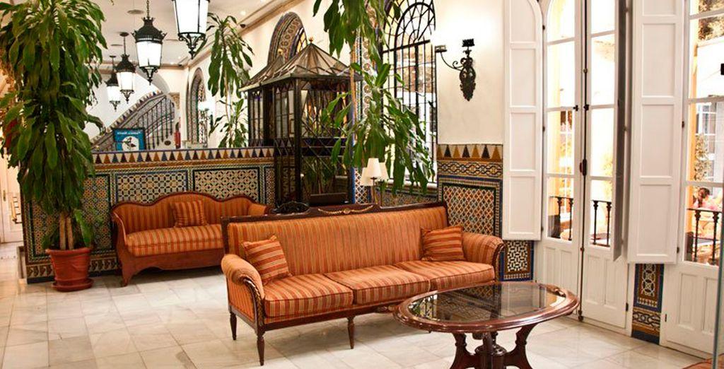 Un trato exquisito en un ambiente donde se combinan historia, elegancia y modernidad