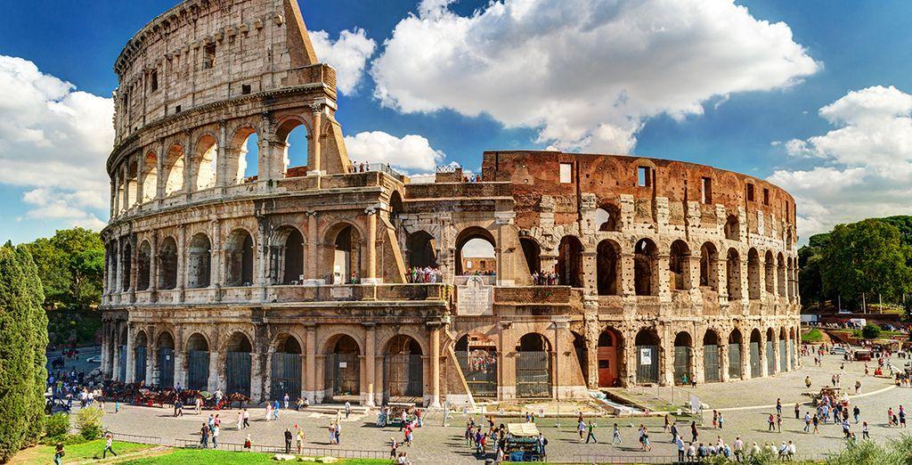 Viajes a Roma - El Coliseo