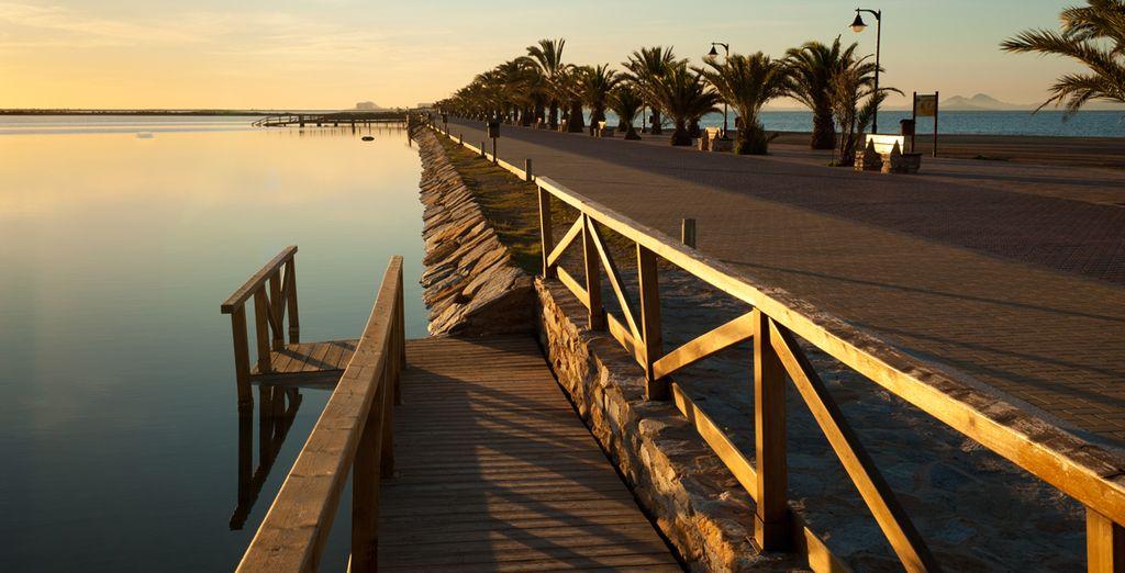 Hoteles con spa en Murcia - Las playas