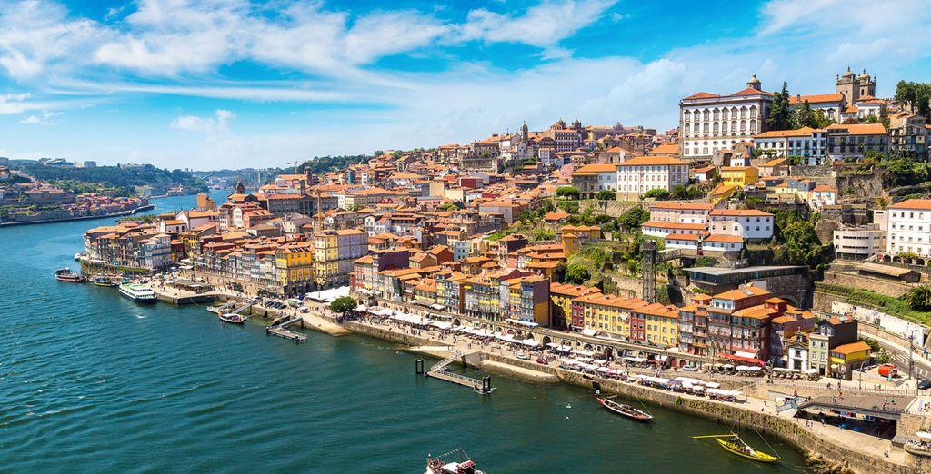 Vuelo más hotel Oporto