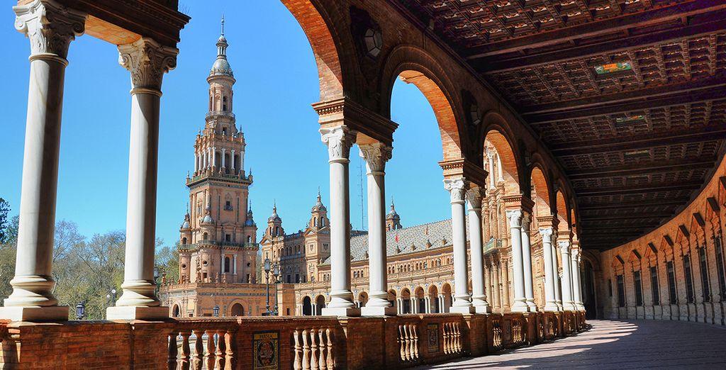 Vacaciones en España, Sevilla, actividades, viajes