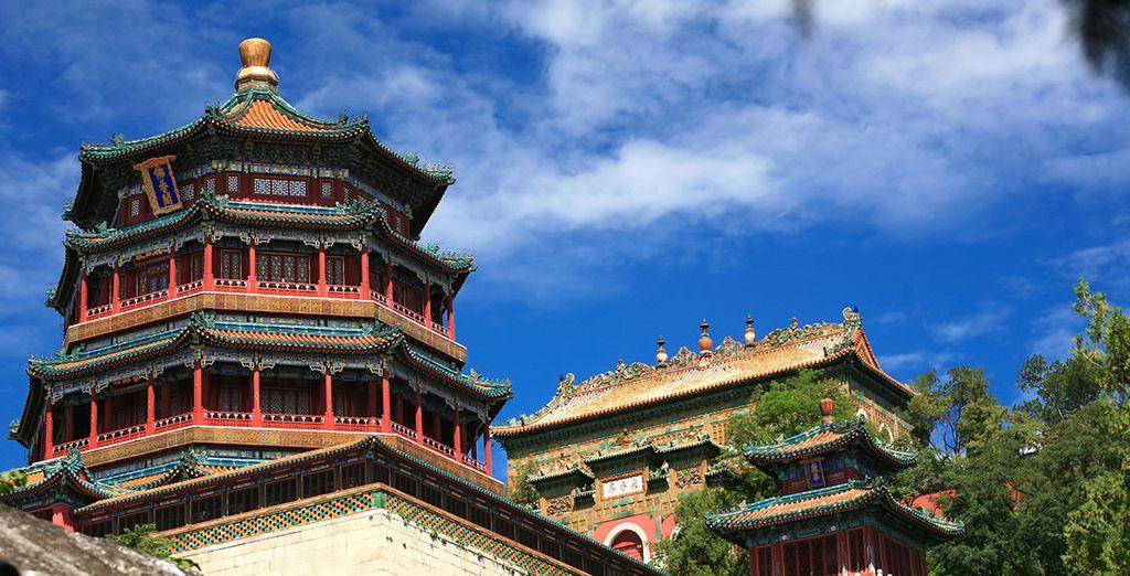 El Palacio de Verano, residencia veraniega de la dinastía Qing