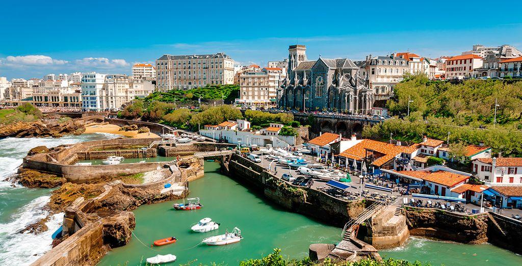 Biarritz, a sólo 5 km