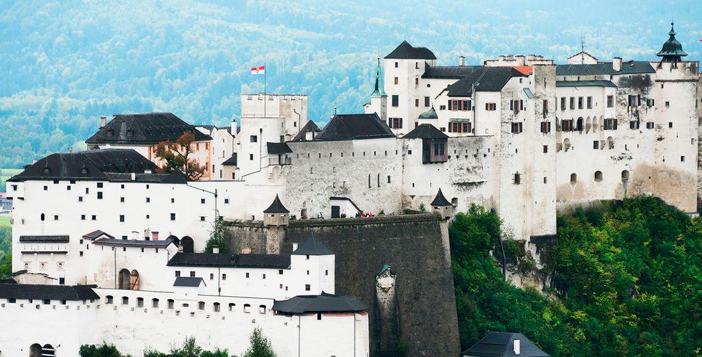 El Fuerte Hohenzalsburg controla la ciudad