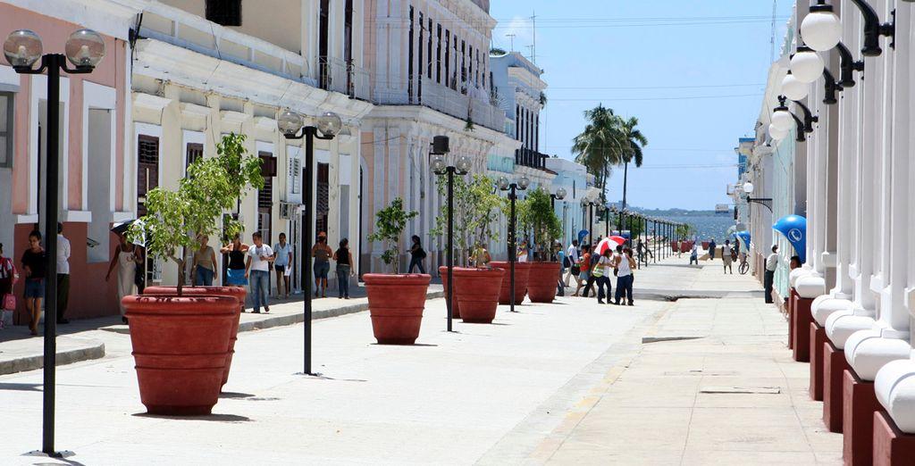 ... con todo el sabor caribeño de sus gentes y su ciudad