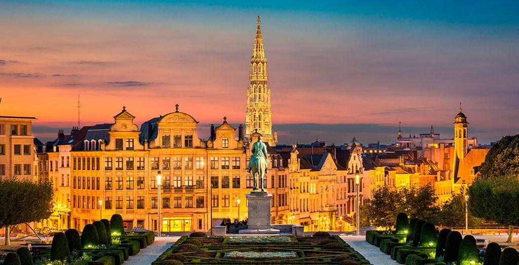 Bienvenido a tu estancia en Bruselas en Crowne Plaza Brussels - Le Palace 4*