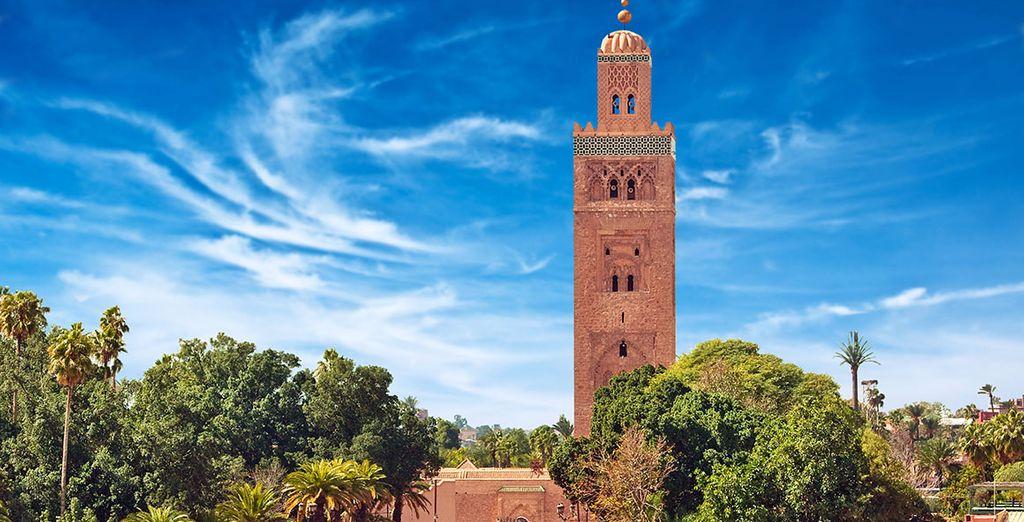 ¡Conoce Marrakech alojándote en el Riad Les Oliviers!