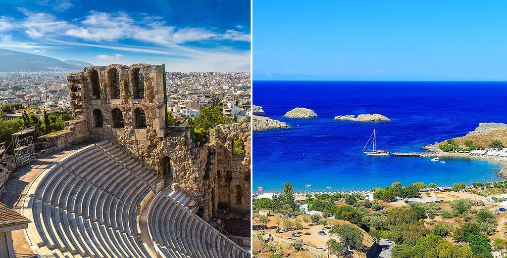 Una aventura por Grecia está a punto de empezar
