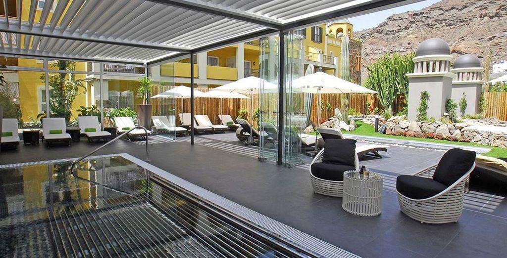 Un oasis de relajación