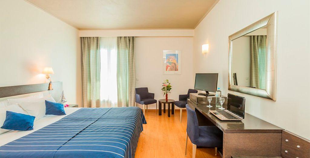 Unas habitaciones que garantizan el máximo confort