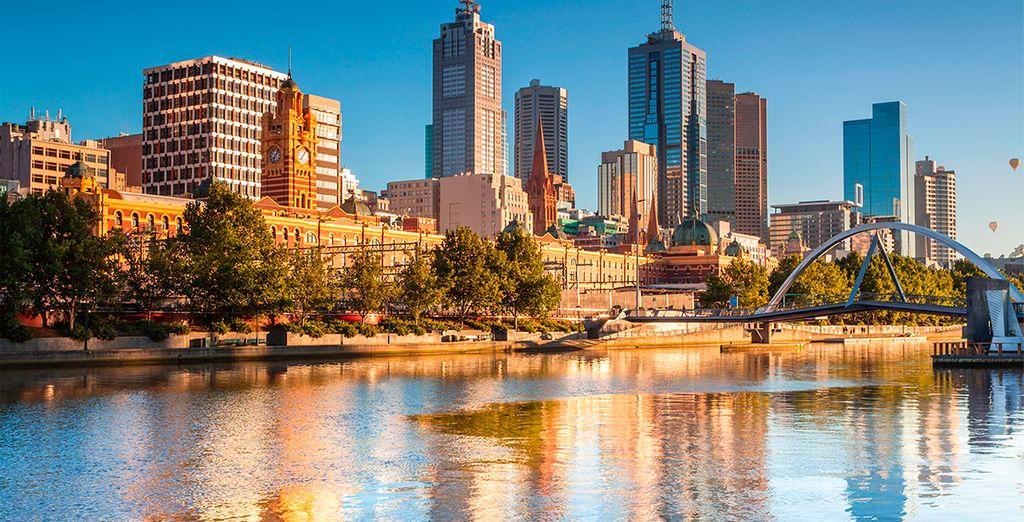 Melbourne, la última parada en su viaje.
