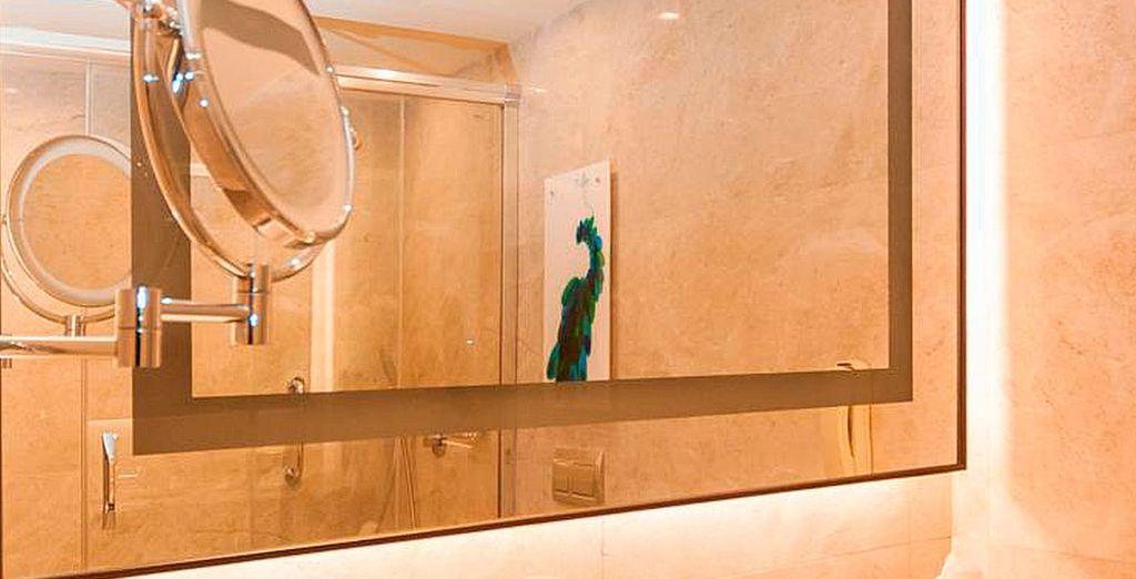 Dispondrás de un moderno cuarto de baño