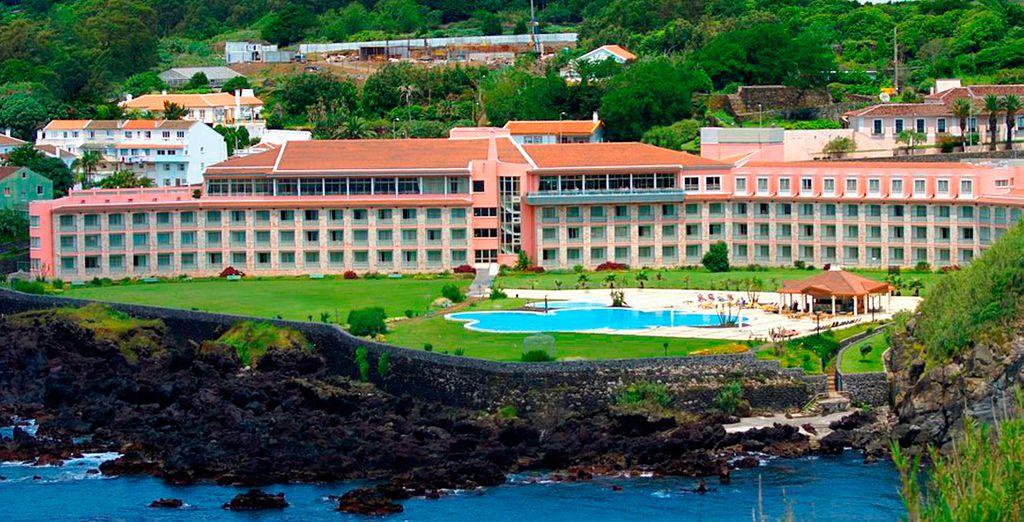 Vistas panorámicas del hotel