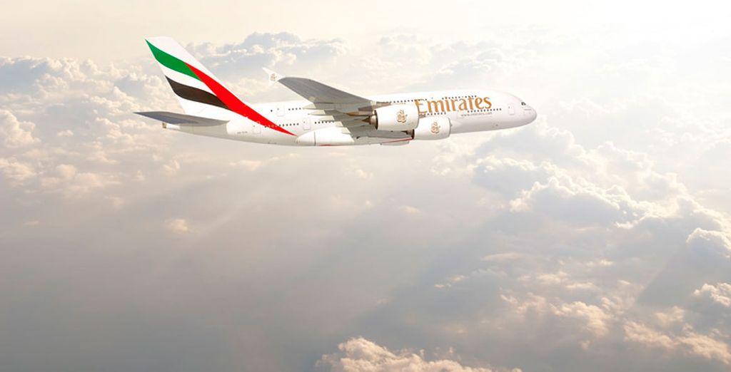 Emirates es una de las mejores aerolíneas del mundo, con varios premios internacionales