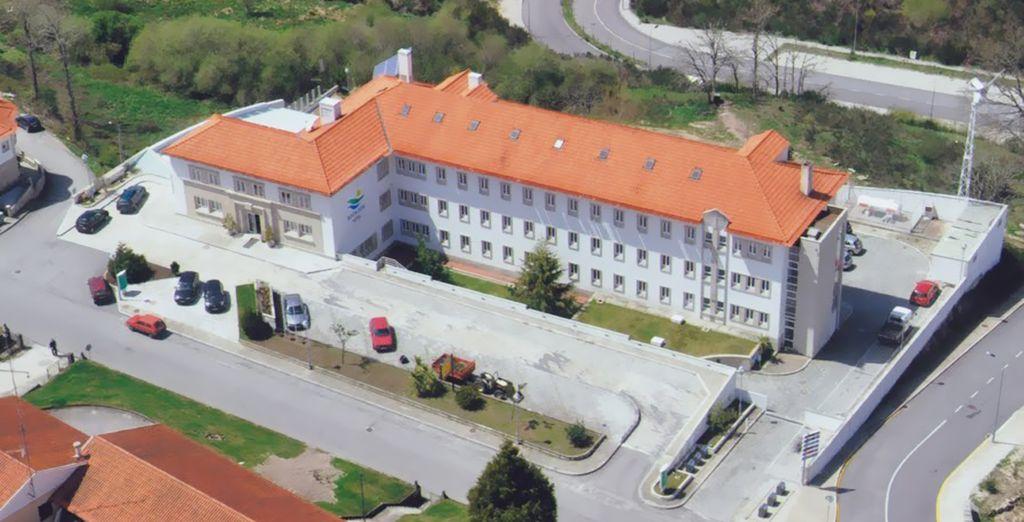 Un hotel situado en el corazón de Montalegre