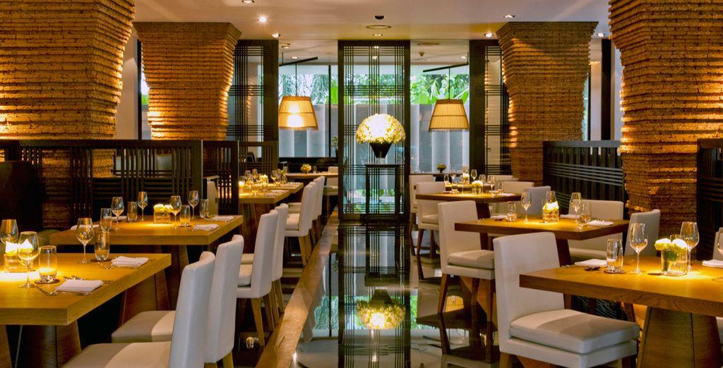 El elegante bar Met ofrece platos inspirados en la cocina mediterránea