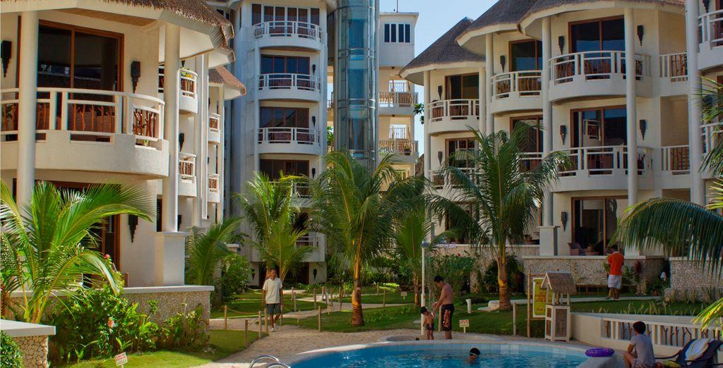 Disfrute de su estancia en el Hotel Ambassador in Paradie 5*