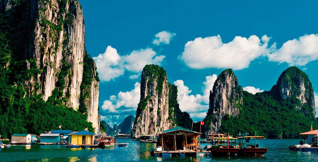 Un recorrido por Vietnam y estancia en playa